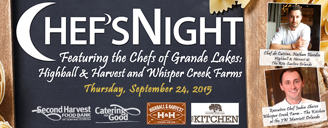 Chef's Night featuring Grande Lakes Chefs