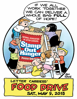 2015 Letter Carriers Food Drive