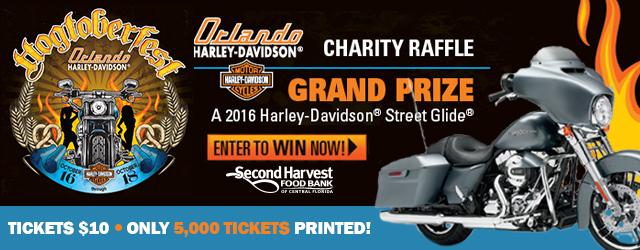 2015 Hogtoberfest with Second Harvest Food Bank and Orlando Harley-Davidson