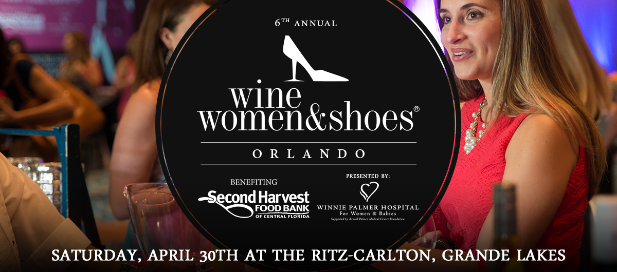 Help fight hunger at Wine Women & Shoes Orlando