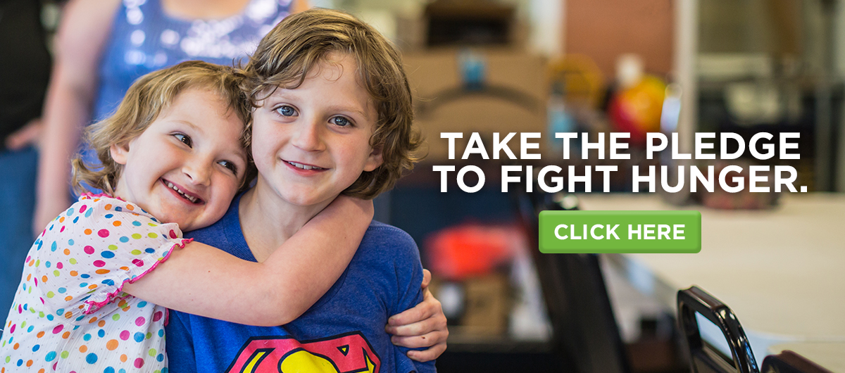 Take the pledge to fight hunger