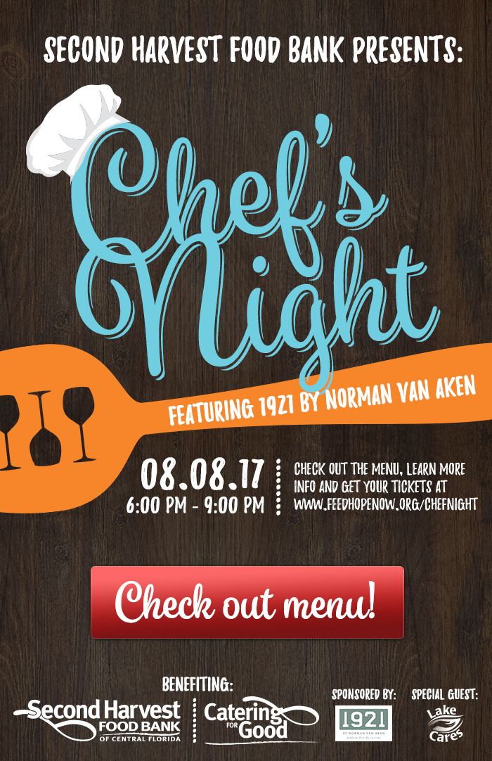 Chef's Night featuring 1921 by Norman Van Aken