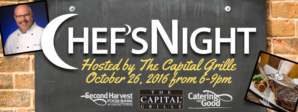 Second Harvest Food Bank Chef's Night