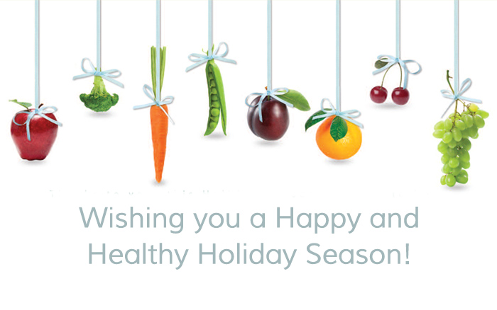 Wishing you a happy and healthy holiday season