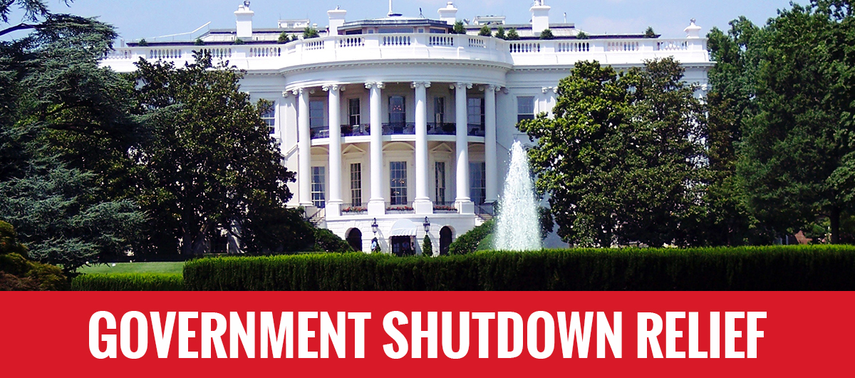 Government Shutdown Relief