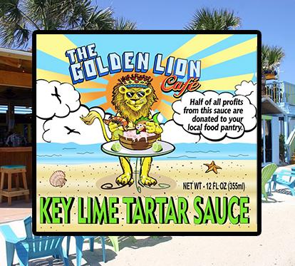 The Golden Lion Cafe's Key Lime Tartar Sauce
