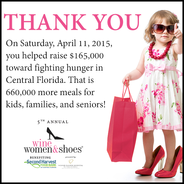 Wine Women & Shoes Orlando - Saturday, April 11