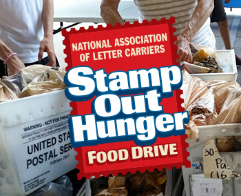 Help us Stamp Out Hunger on May 11th.