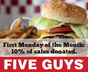 Five Guys First Monday