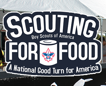 Boy Scouts' Scouting for Food