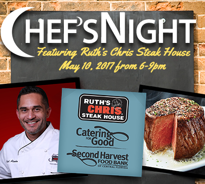 Chef's Night with Ruth's Chris Steakhouse graphic