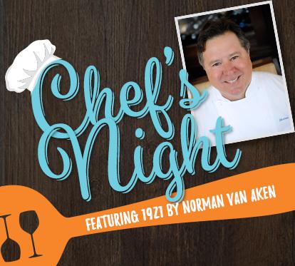 Chef's Night with 1921 by Norman Van Aken
