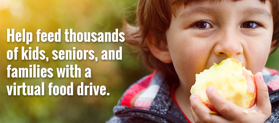 Help feed kids and families with your virtual food drive