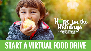 Start a Hope for the Holidays virtual food drive
