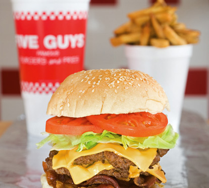 First Monday of the Month at Five Guys