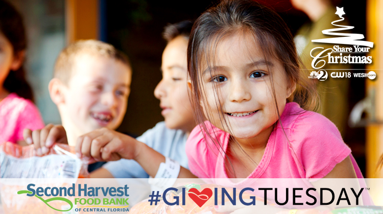 Support Second Harvest on #GivingTuesday