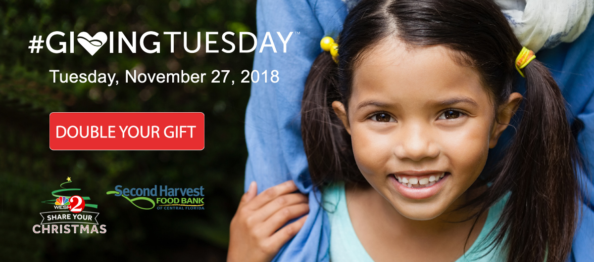 Double Your Gift on #GivingTuesday