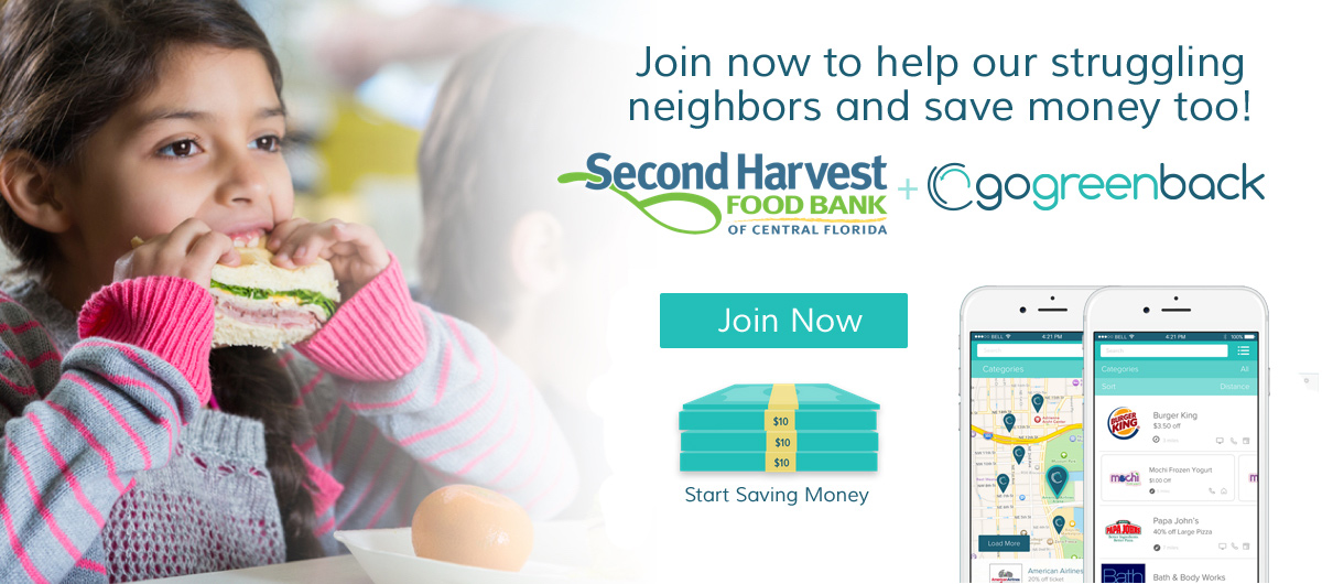 Save Hundreds of dollars at your favorite retailiers while supporting Second Harvest