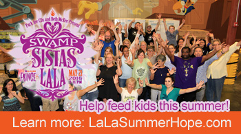 Help feed kids this summer at LalaSummerhope.com