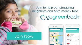 Start saving today with GoGreenback