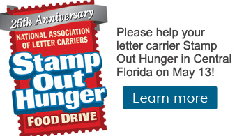 Help Stamp Out Hunger on May 13!