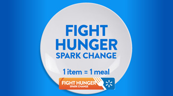 Fight Hunger. Spark Change with Walmart