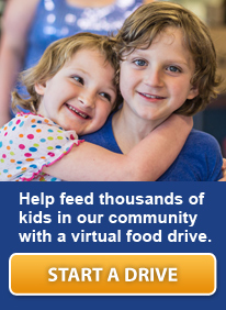 Help feed families and kids with a virtual food drive