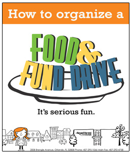 How to Organize a Food & Fund Drive. It's serious fun.