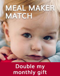 Meal Maker Match: Your monthly gift matched for 3 months