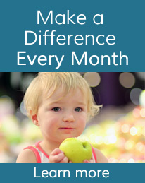 Learn how you can make a difference every month.