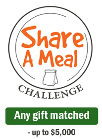 Share a Meal Challenge: Any Gift Matched