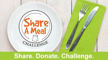 Share. Donate. Challenge.
