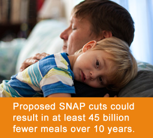 Fewer meals=more families struggling with hunger