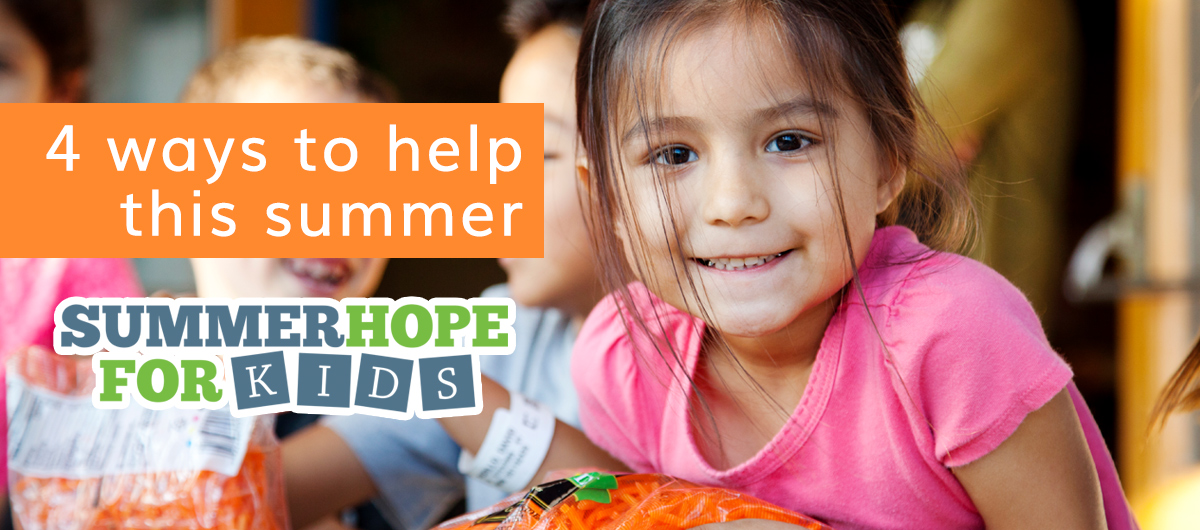 4 ways to help this summer