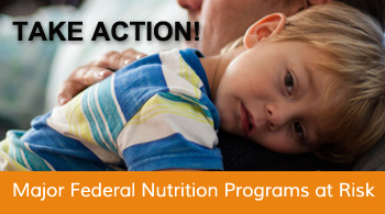 Major federal nutrition programs at risk