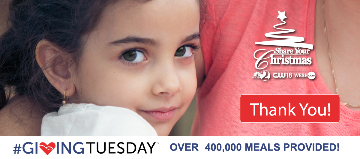 over 400,000 meals provided