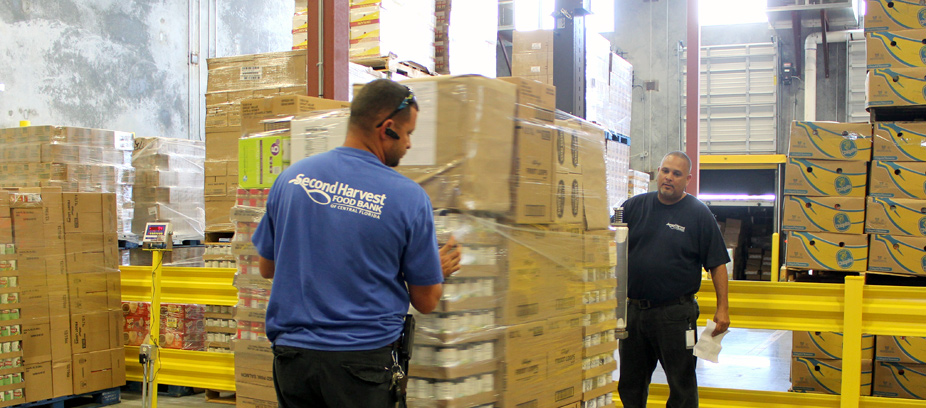 Second Harvest Food Bank warehouse