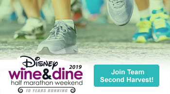 Disney Wine & Dine: Join Team Second Harvest