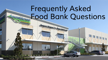 Frequently Asked Food Bank Questions