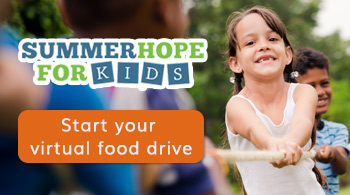 Help feed kids and families with a virtual food drive.