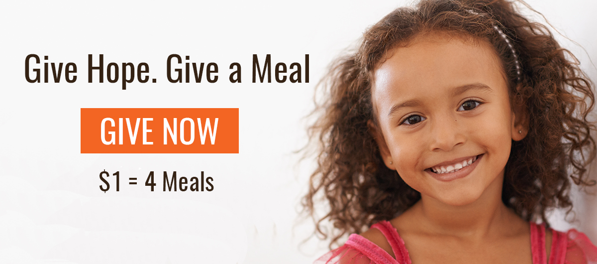 Give Hope. Give a Meal. Help feed our Central Florida neighbors in need.