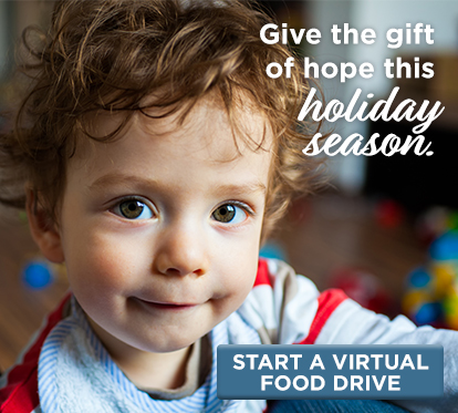 Start your virtual food drive for kids