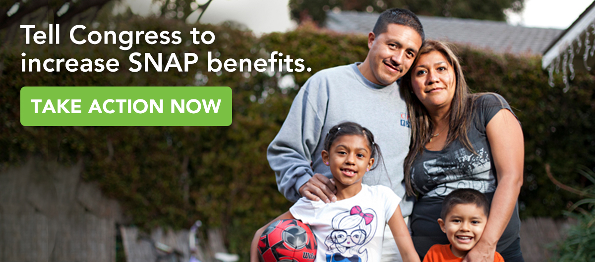 Tell Congress to Increase SNAP