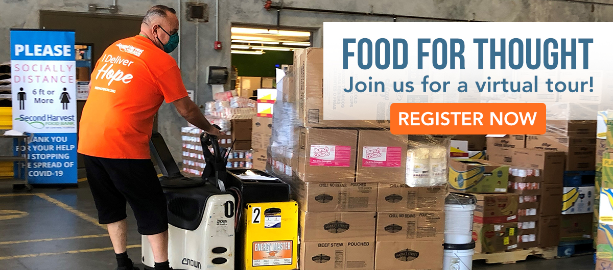 Join us for a virtual Food for Thought tour!