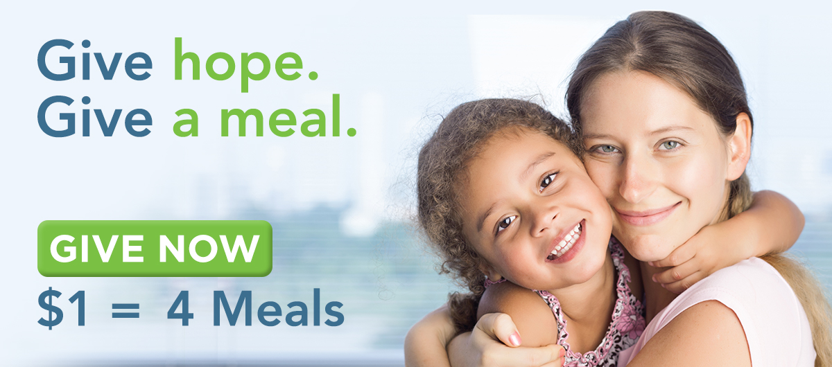 Give Hope. Give A Meal.