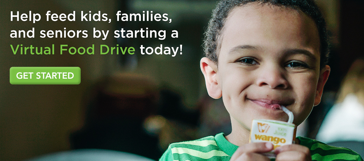 Start a Virtual Food Drive today!