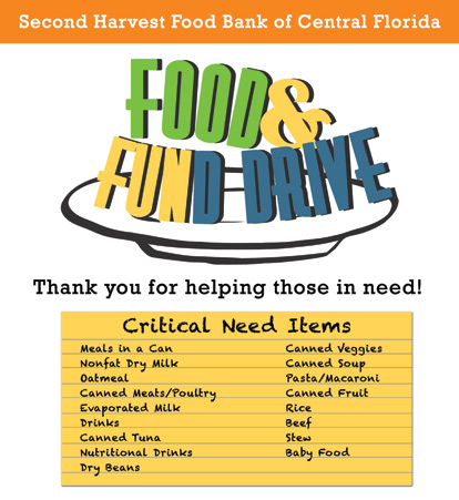 Food Drive Posters